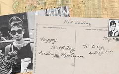 Breakfast at Tiffany's Happy Birthday Card