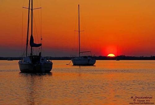 sunset sc southcarolina charleston follybeach lowcountry follyriver follybeachroad