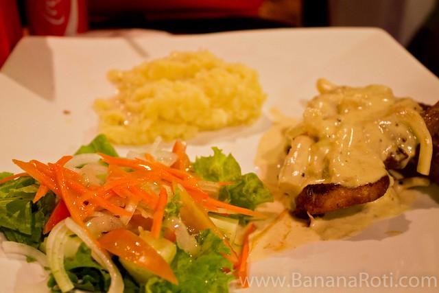 Porkchops with Mushroom Sauce