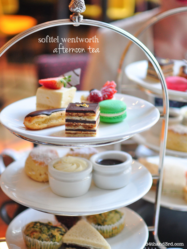High Tea At The Sofitel Sydney Wentworth Hotel 84th Amp 3rd