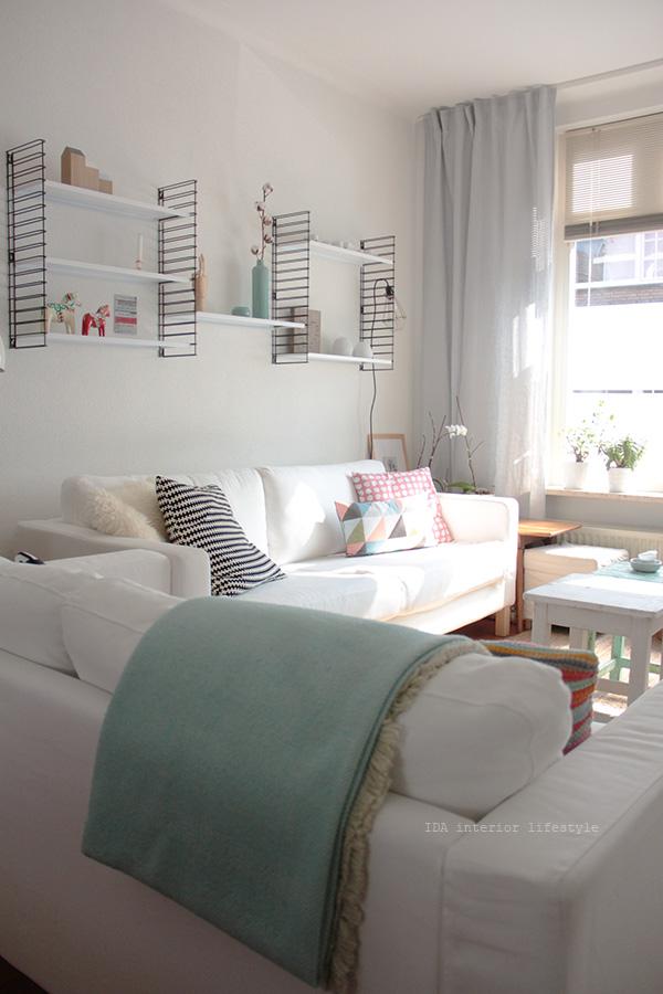 Un sal n blanco muy acogedor decorar tu casa es - Foro decoracion ikea ...