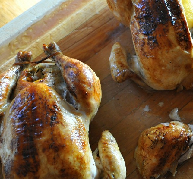 Lemon, Herb, and Garlic Roast Chicken
