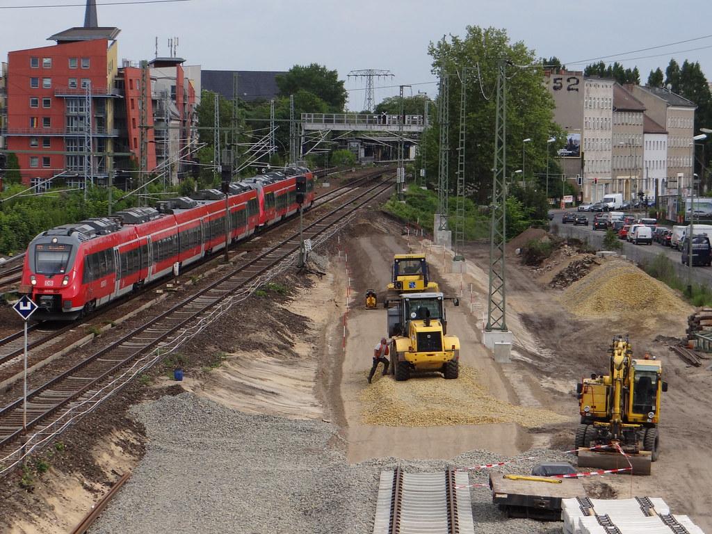 Verlauf der neuen Fernbahntrasse
