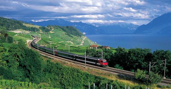 DVD o švýcarské železnici a veřejné dopravě