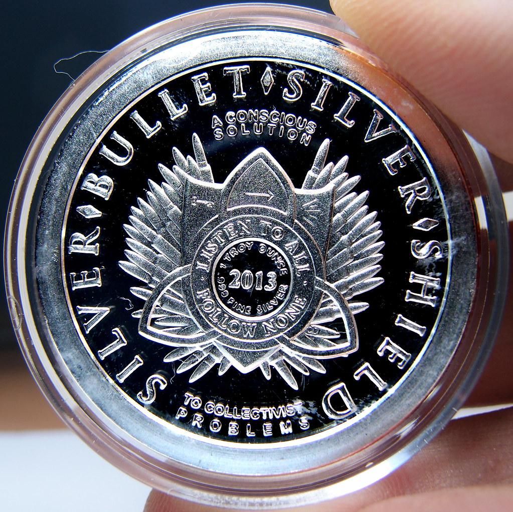"""Colección de onzas de plata """" Silver Bullets & Silver Shield"""" 10174072605_5b90515891_b"""