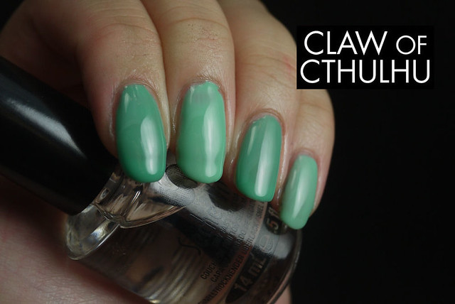 NYC Tudor City Teal vs. Essie Turquoise and Caicos
