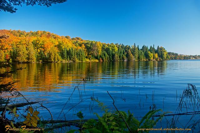 Fall Colors On Grand Sable Lake