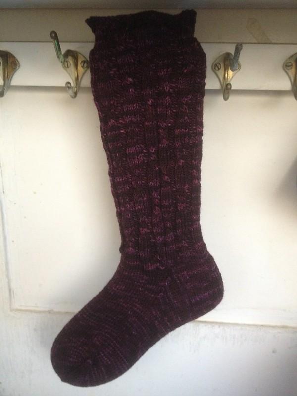 Velvet Grapes Socks