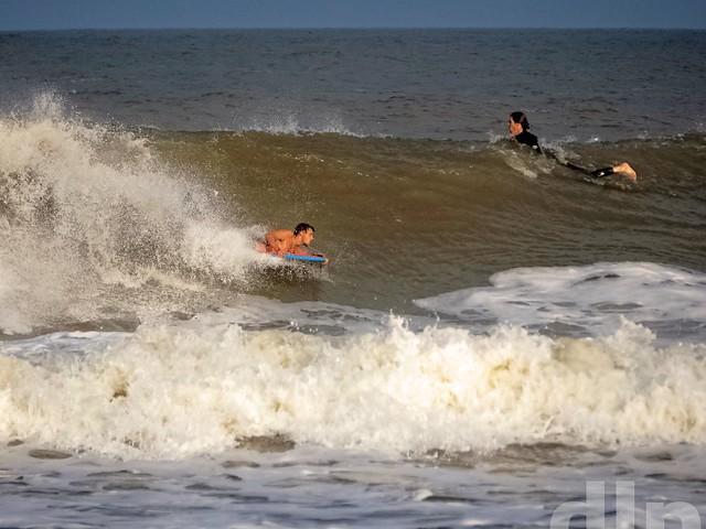 Surfing labor day ortley beach NJ 2016