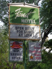 Faust Hotel- New Braunfels TX (1)
