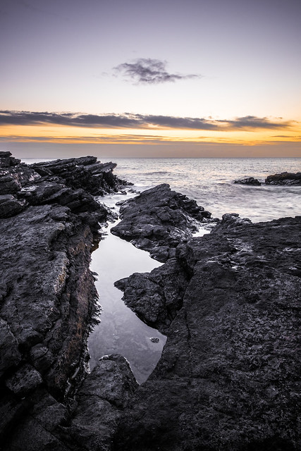 Portmarnock at sunrise - Dublin, Ireland - Seascape photography