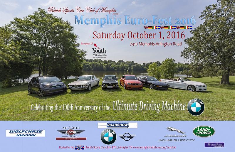 10/16 Memphis Euro Auto Fest