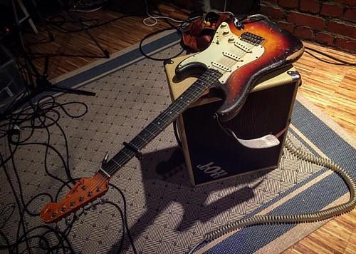 #fender #stratocaster #1962 #pre-cbs #vsichnislintaj #matojinejzvuk #blbyvid #wildtides #producerlife #recordingstudio #germany