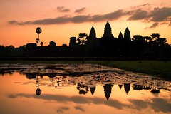 Sunrise at Angkor Wat, Cambodia #travel #angkor #cambodia