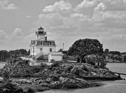 Pomham Rocks Lighthouse, RI