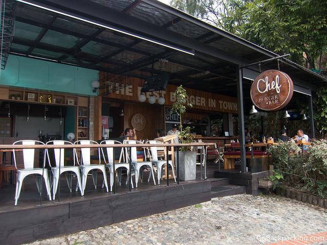 Chef Burger Bar in Poblado