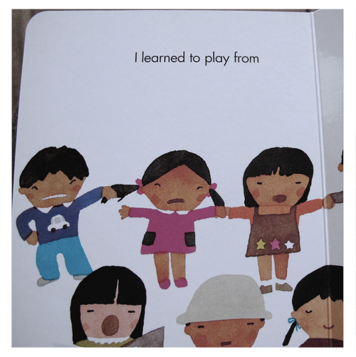 I learned to play from