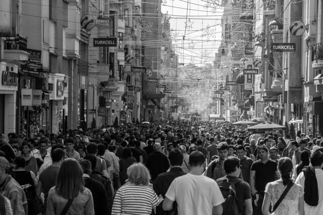 Istiklal Avenue - Istanbul, Turkey