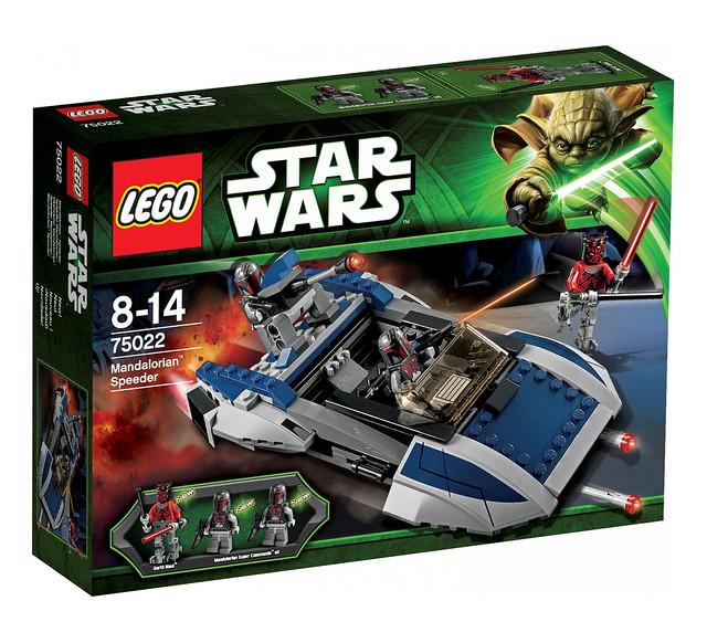 LEGO Star Wars 75022 - Mandalorian Speeder - BoxArt