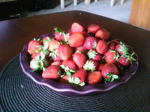 Strawberry Pie... hold the pie.