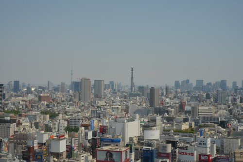 The view from the NIKON Shinjuku service center(Aftre LPF cleaning )