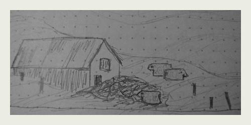 Iceland sketch