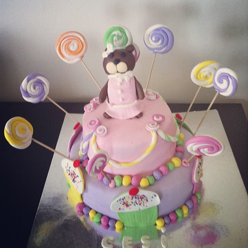 #lollipopcake#cupcake#birthdaycake#sugarpaste #sekerhamurlupastalar by l'atelier de ronitte