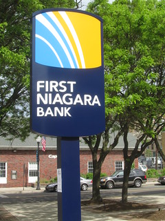 First Niagara Bank Sign