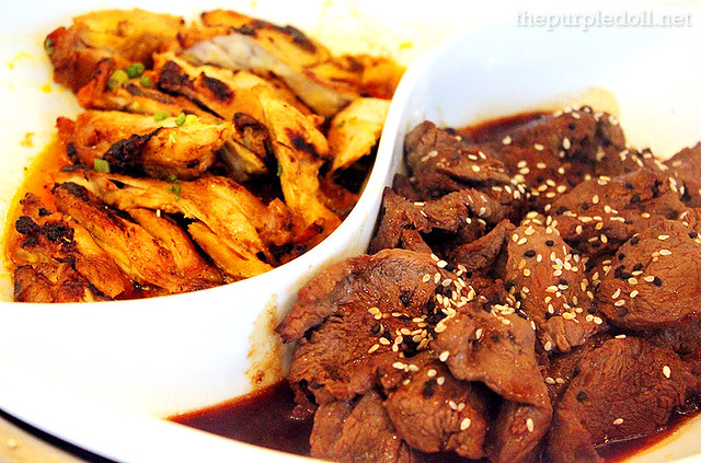 Entrees - Chicken Inasal and Beef Teriyaki