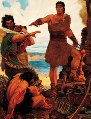 Nephi Subdues His Rebellious Brothers