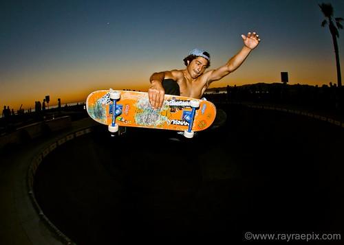Venice Skatepark: SeanSon JohnSon 10-5-13