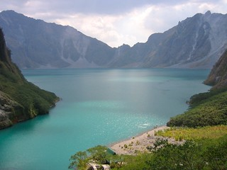 Pinatubo crater lake, Luzon, Philippines