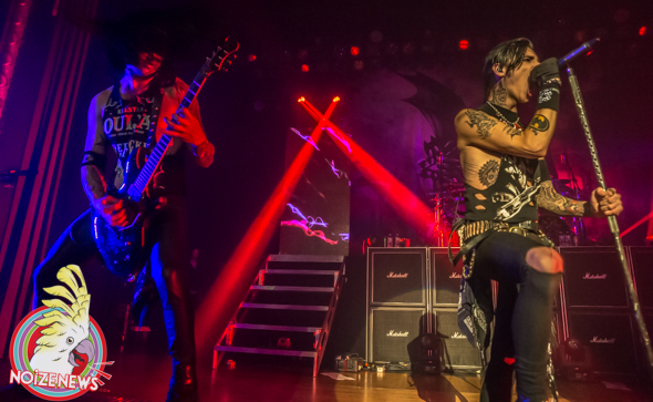 Black Veil Brides in Royal Oak, Michigan.