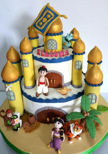 Alladin Cake of Jefcee's Cakes and Desserts
