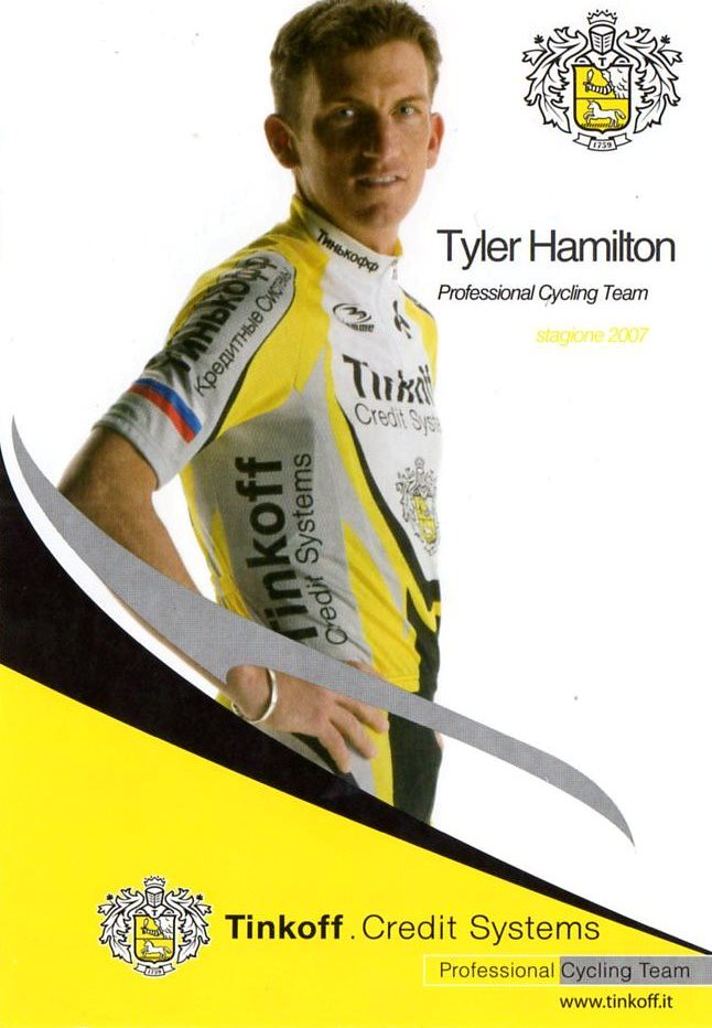 Tyler Hamilton - Tinkoff 2007
