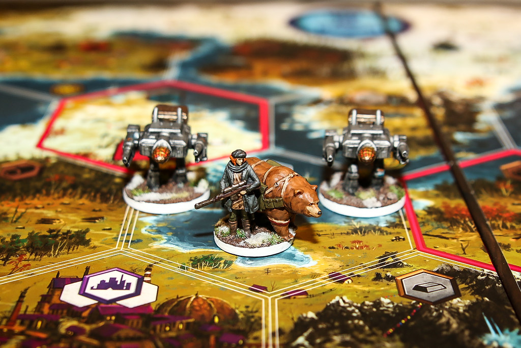 Scythe Board Game Painted Minis / Miniatures