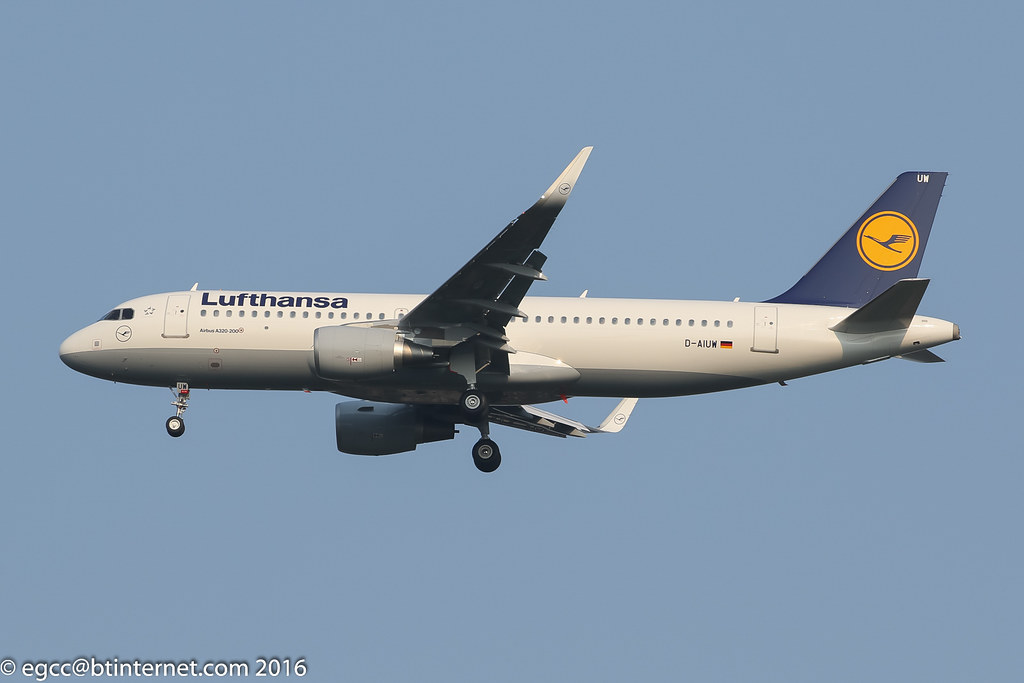 D-AIUW - A320 - Not Available