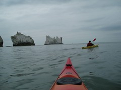 Sea Kayaking: Isle of Wight (11-Apr-09) Image