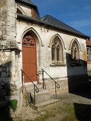 CRECY-EN-PONTHIEU : Eglise Saint-Séverin (sacristie)