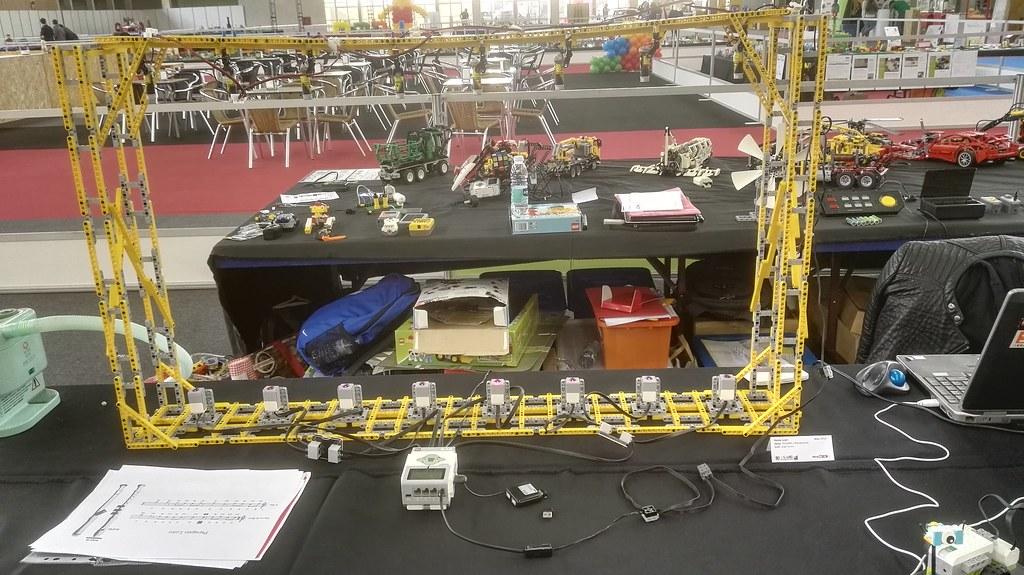 Lego Laser Harp Lego Mindstorms And Robotics Eurobricks Forums