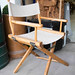 Folding directors canvas chair €20