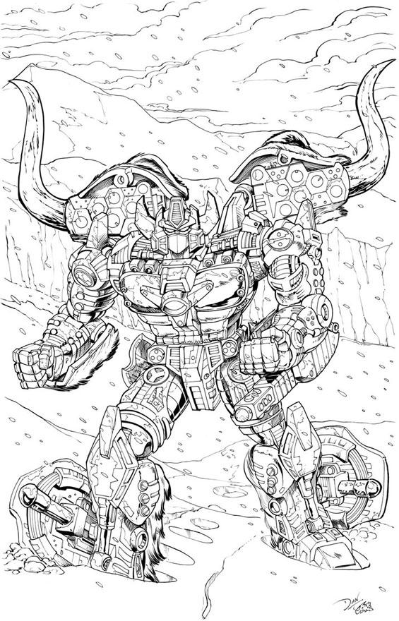 Issue 61 一人之軍閥 Beast Wars Neo Big Convoy Tktf