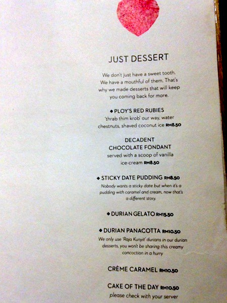 Menu - PLOY at Changkat Semantan, Damansara Heights-002
