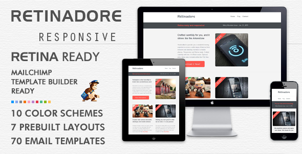 Flatroway  Metro Flat Responsive Email Template Newsletters