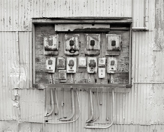 Disused Electrical Panel, Portland