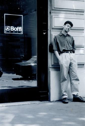 Paris trip, 2001