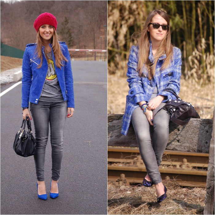 how to wear blue1
