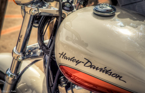 Harley Davidson closeup