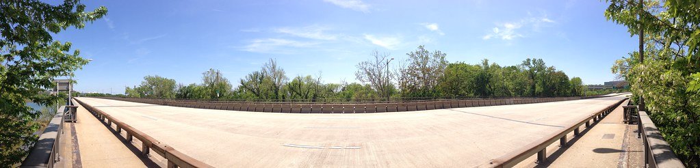 Panorama: Completely Empty Theodore Roosevelt Bridge