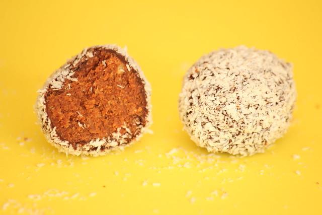Coconut & Mango Truffles